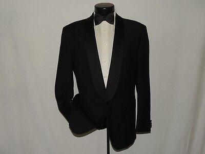 Entusiasta Hollywood Vestiti Uomo Nero Elegante Scialle 007 Stile Smoking 40 R