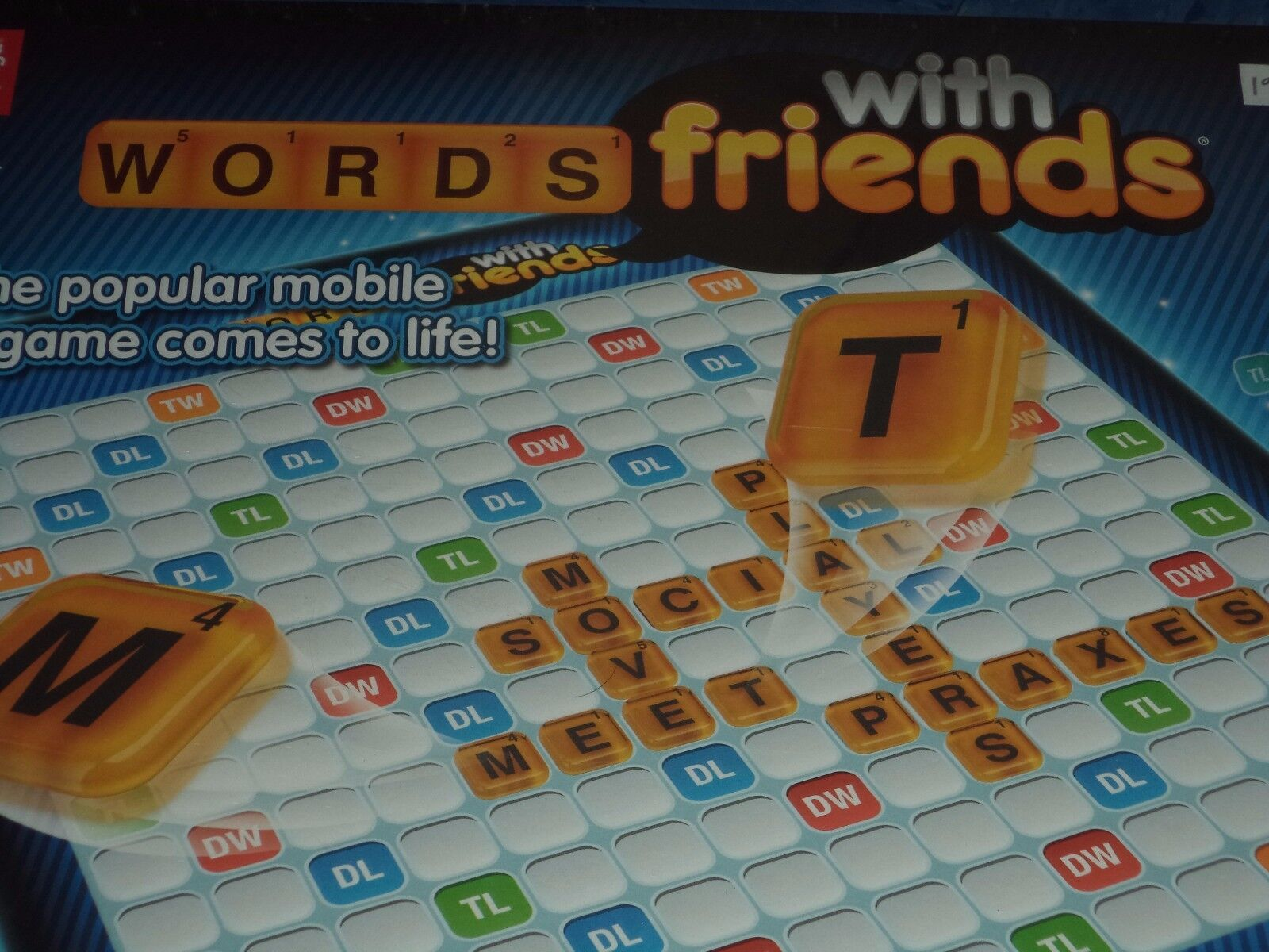 Words with Friends - Zynga Games Board Game New