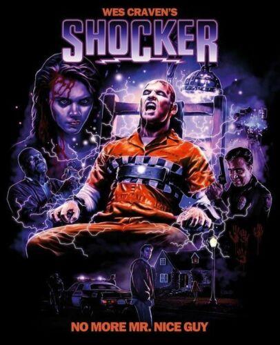 Men/'s Ladies T SHIRT classic horror 80s Craven SHOCKER serial killer film