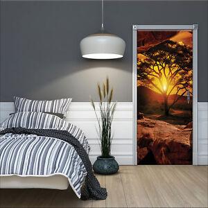 VLIES-Fototapeten-Fototapete-Tapete-Natur-Afrika-Sonne-Baum-Ausblick-3FX10260VET