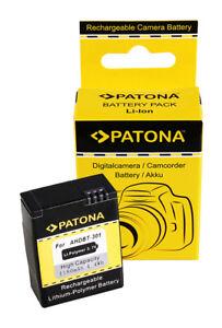 Patona Battery For GOPRO HD Hero 3 AHDBT-201 AHDBT-301 AHDBT201 AHDBT301