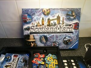 SCOTLAND YARD BOARD GAME by RAVENSBURGER, COMPLETE, EXCELLENT CONDITION