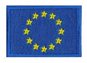 70 Patche Patch X Embleme Brodé Coudre À Drapeau Europe Écusson Ue CxWEreQdBo