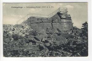 AK-Fichtelgebirge-Schneeberg-Gipfel-1907