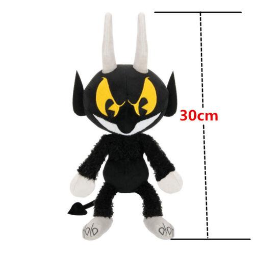 Chalice Mugman Devil King Dice Ghost Plush Doll Toys Xmas Gift Cuphead Ms US