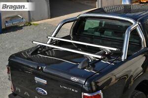 Roof-Rails-Short-Cross-Bars-Nissan-Navara-NP300-2016-Bed-Cover-Top-Load