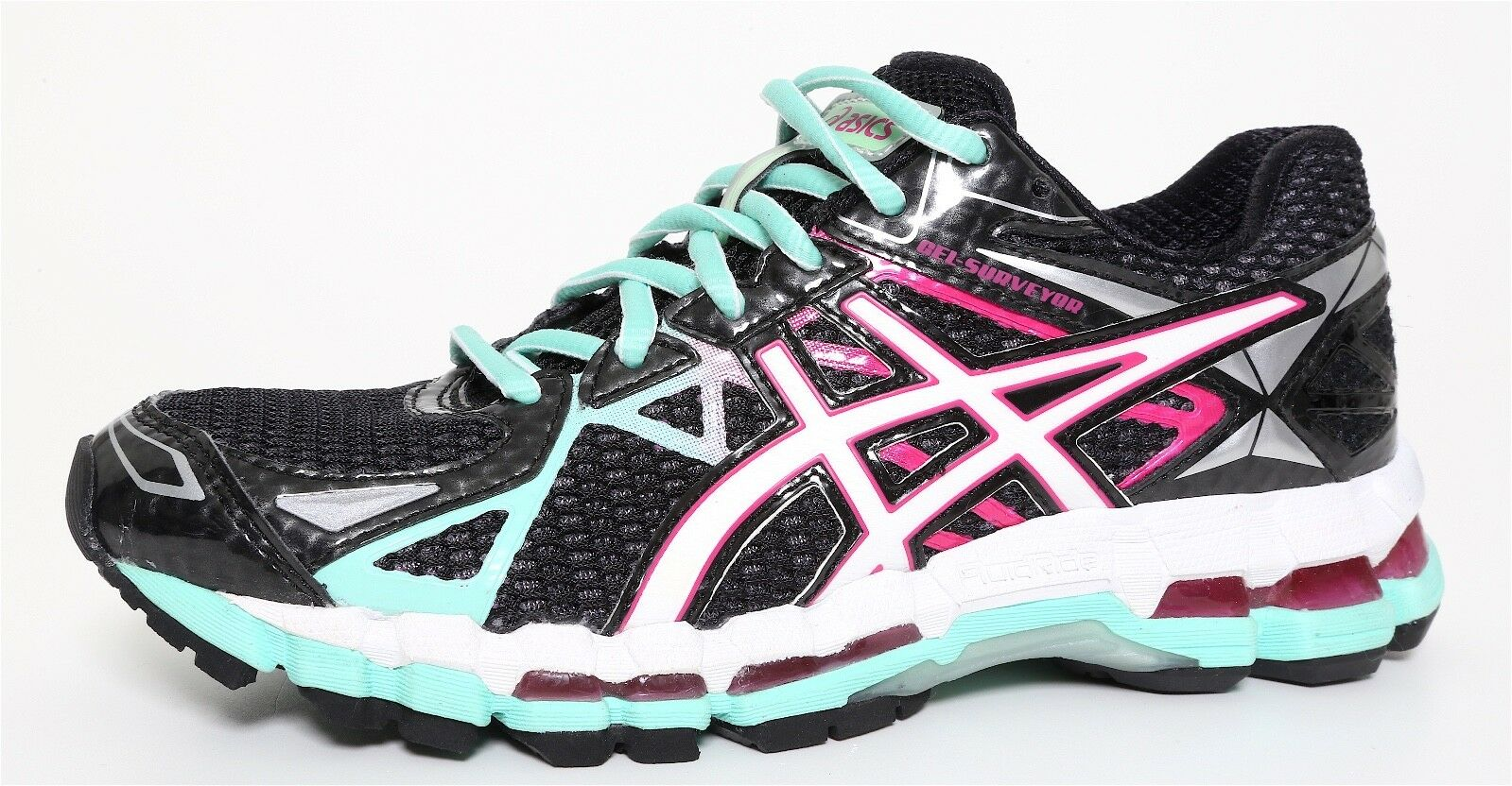 Asics GEL Surveyor 3 Running Shoes Multi Color Women Sz 6 7936