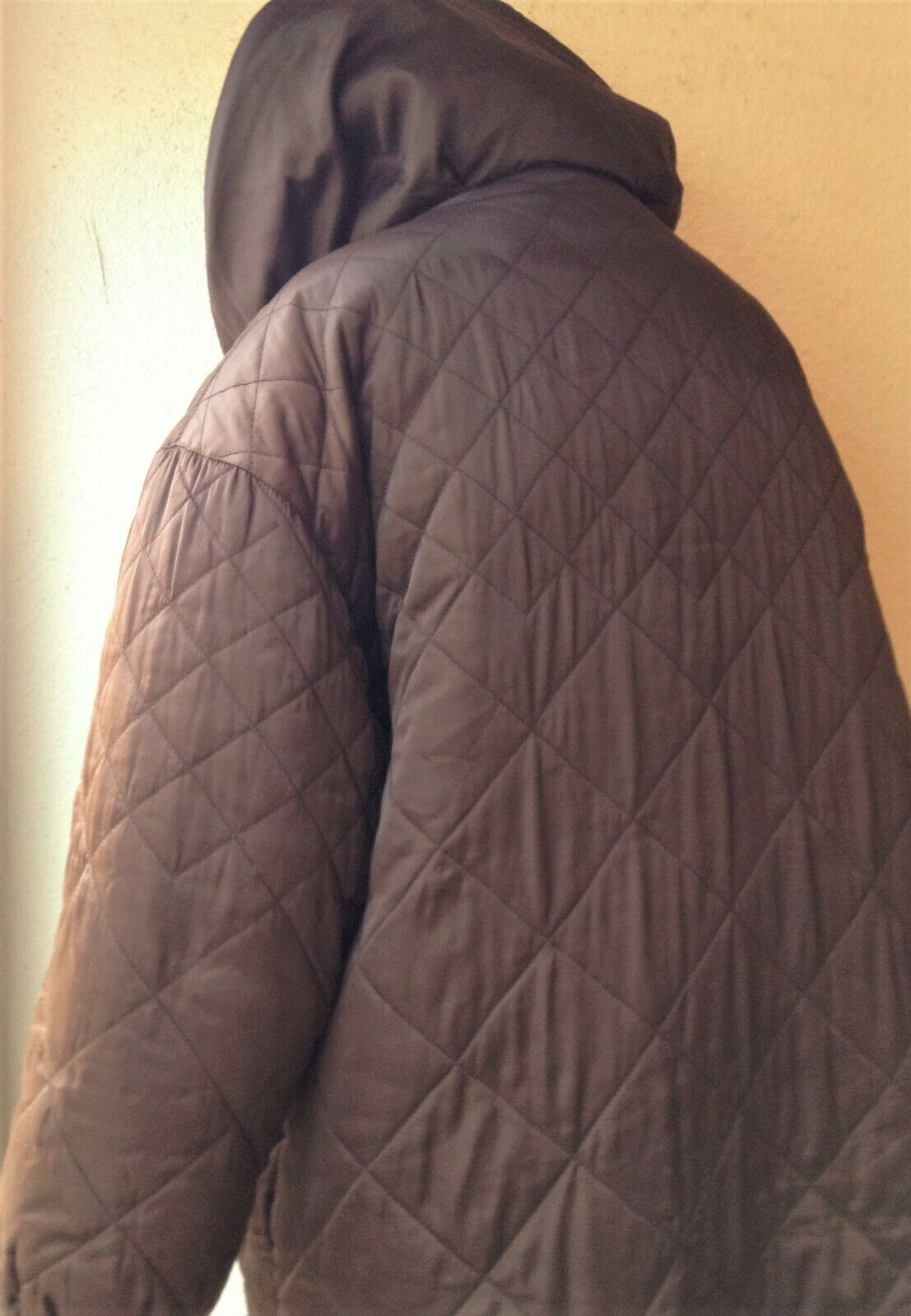 BILL BLASS QUILTED DOWN FILLED PUFFER COAT, KNEE … - image 5