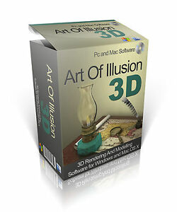 art of illusion 3d modelling animation software windows mac both included ebay. Black Bedroom Furniture Sets. Home Design Ideas