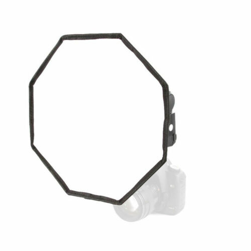 Octágono Difusor de Flash Softbox para Canon Speedlite Photo Studio 30cm SLR