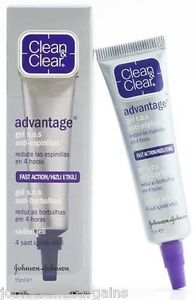 Clean-amp-Clear-Advantage-Anti-Spot-Gel-15ml-Fast-Action-EXP-DATE-05-2015