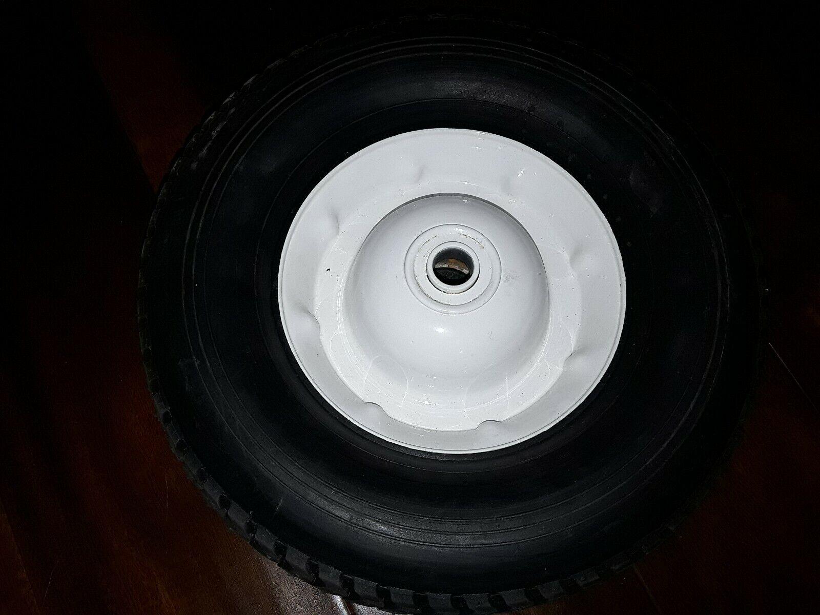 Heavy Duty plana libre sólido rueda de 10 X 3 1 2 (juego de 2)