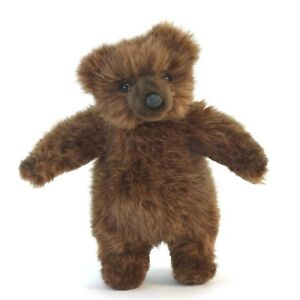 Brown-Bear-Cub-Realistic-Hansa-Soft-Animal-Plush-Toy-20cm-FREE-DELIVERY