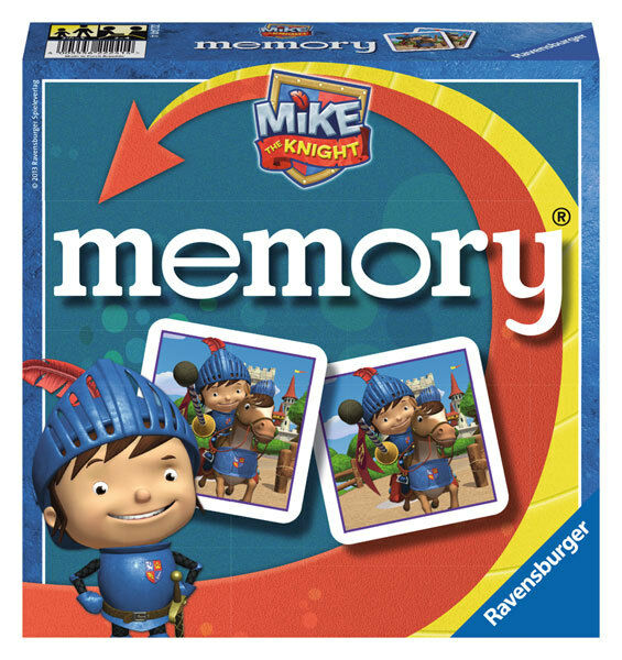 Ravensburger Memory Mike The Knight Caballero Piezas Juego Infantil