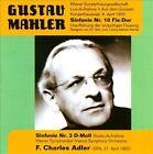 Gustav Mahler: Sinfonie Nr. 10 Fis-Dur; Sinfonie Nr. 3 D-Moll (CD, Feb-2011, 2 Discs, Music & Arts)