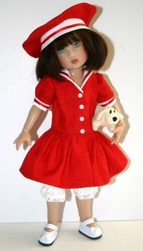 """Ship to Shore Doll Clothes Sewing Pattern 12/"""" Bethany Kish Dolls"""