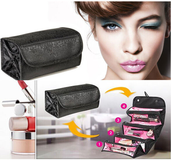 Women Travel Cosmetic Bag Organizer Multifunction Make Up Case Pouch Toiletry DZ