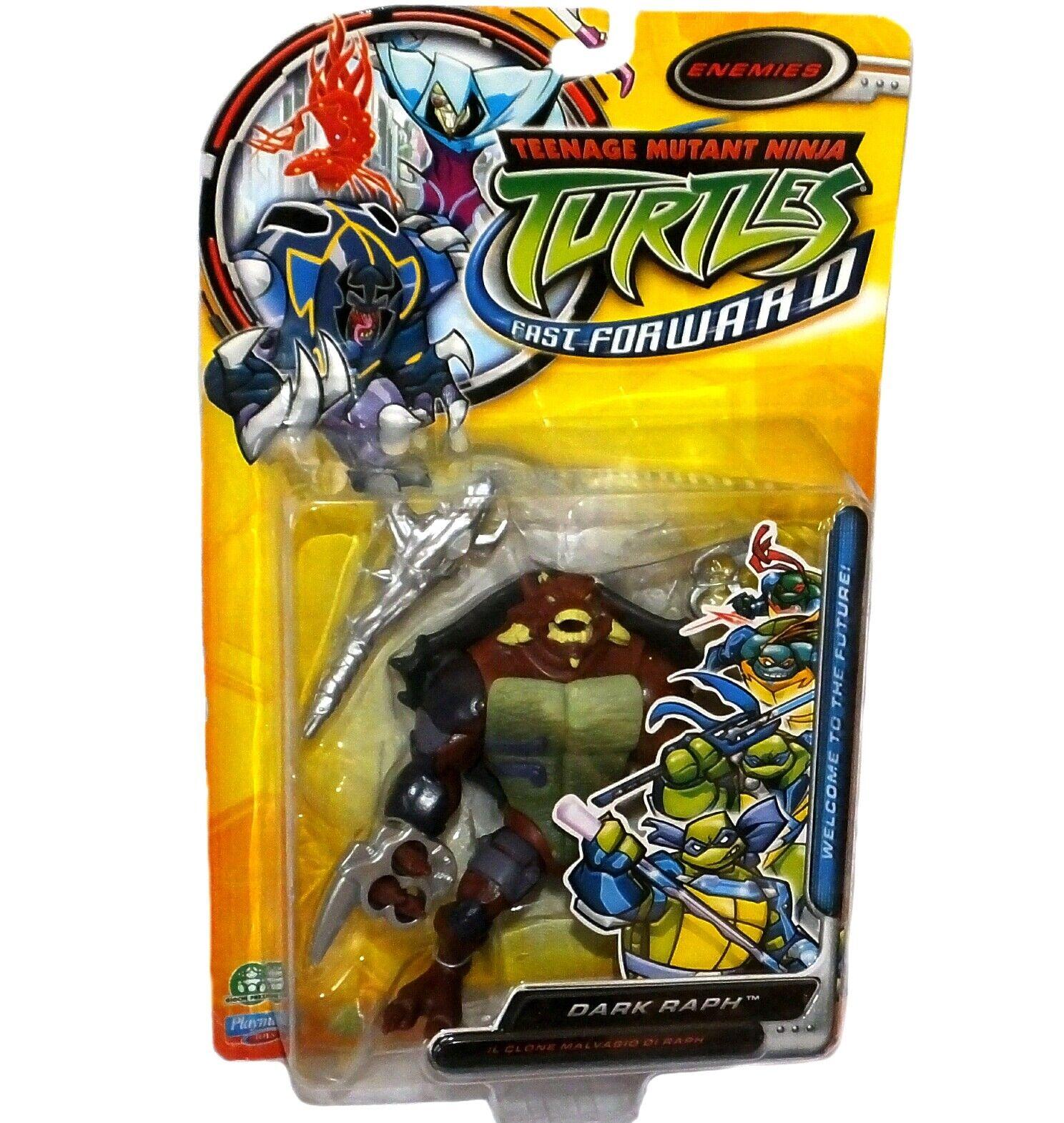 Teenage Mutant Ninja Turtles Fast Forward Dark Raph Rapheal New Factory Sealed