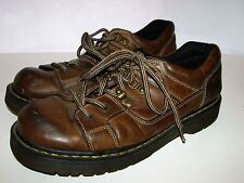 DR MARTENS Shoes Oxfords Lace Up Leather Brown 8A79 Mens US 11