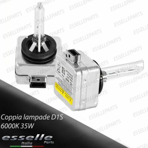 COPPIA LAMPADE XENON D1S LUCE 6000K SPECIFICHE PER KIA CEE/'D JD MK2