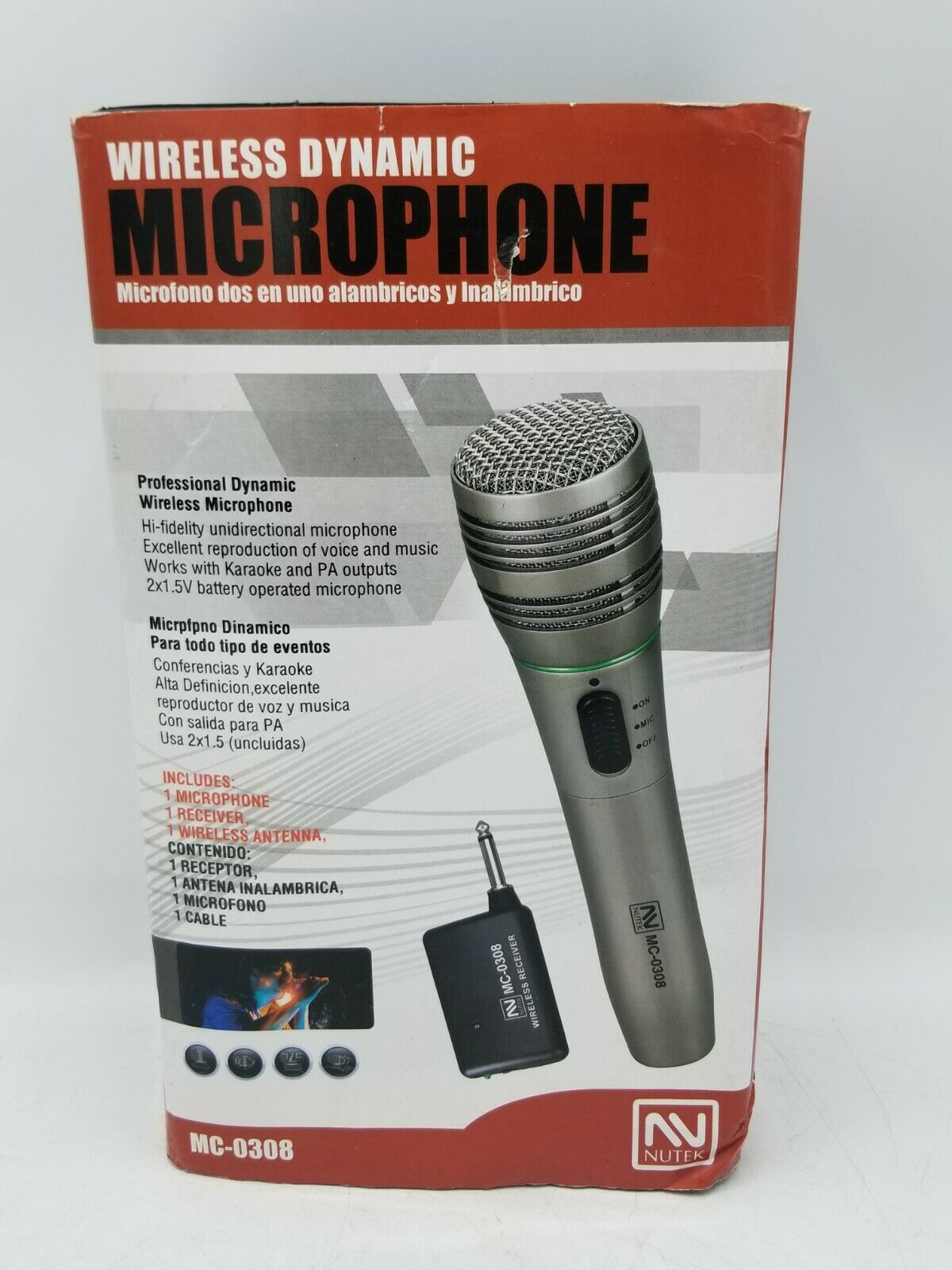 Nutek MC1048 Wired Microphone
