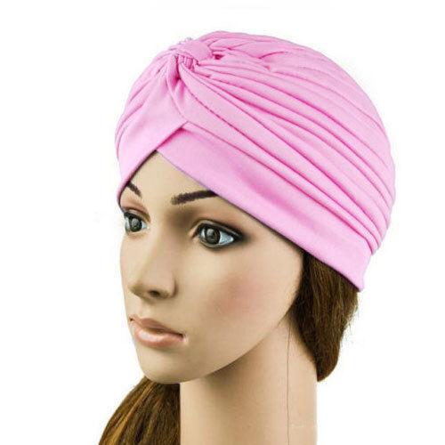 Haute qualité Filles Femme Style Indien Afro turban tête wrap bandana chimio B3