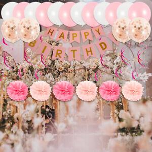 Joyeux-anniversaire-ballon-en-papier-banniere-ballons-Bunting-Party-Decor-DIY