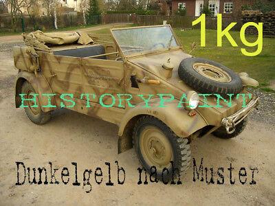 Wehrmacht Farben.Dunkelgelb Nach Muster 1kg Farbe Wehrmacht Februar 1943 Kdf