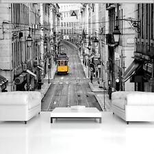 Vließ Fototapete Tapete Wandbild Gelbe Strassenbahn 310330/_VENMVT