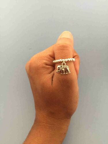Sale!! Silver Plated Ball Finger or toe stretch rings different style stacker