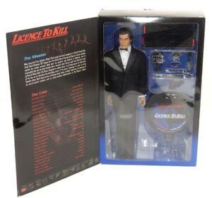 Nib ~ Licence pour tuer Timothy Dalton en tant que figurine d'action à collectionner 12   Nib ~ License To Kill Timothy Dalton As James Bond Collectible 12