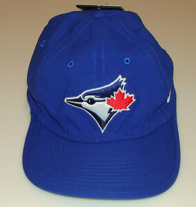 huge selection of db31e ec716 Image is loading Toronto-Blue-Jays-Cap-Hat-Blue-MLB-Performance-