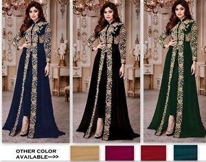 Designer-Bollywood-Salwar-Kameez-indian-Anarkali-Suit-dress-ethnic-Salwar-Suit-M