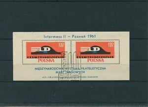 Pologne-Pologne-1961-Mi-Bloc-25-Timbres-Used-Plus-Boutique
