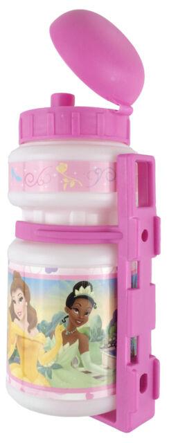 Disney Trinkflasche PRINCESS / Fahrradflasche 350ml / inkl. Fahrradhalterung!