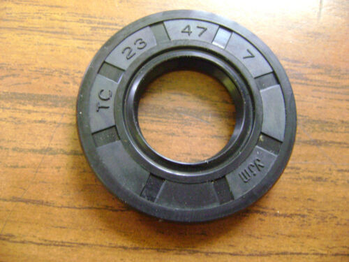 NEW TC 23X47X7 DOUBLE LIPS METRIC OIL DUST SEAL 23mm X 47mm X 7mm