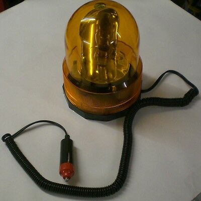 RECOVERY LIGHT REVOLVING BEACON FLASHING FOR TRUCKS PLANT TRAILERS MINI DIGGERS
