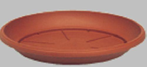 SOTTOVASO similcotto d.30 x h 3,5 cm Color cotto conf.n.48