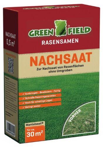 30 m²  Rasensamen Grassamen Rasen Nachsaat Reparatur Mischung 500 g für ca