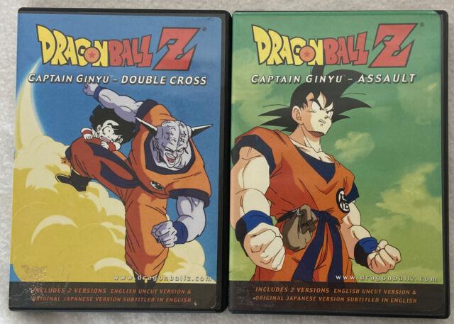 Dragon Ball Z Captain Ginyu Assault Double Cross (Anime DVD, 2000) 2 Disk Lot