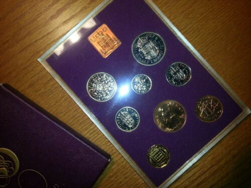 Northern Ireland Eight Coin Proof Set 1970 Great Britain Royal Mint