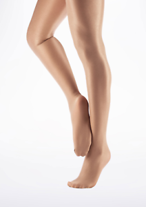 3057136450c4e Image is loading Suntan-Capezio-ultra-shimmery-footed-ballet-tights-1808-