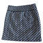 miniature 1 - Ann Taylor LOFT Black White Houndstooth Woven Mini Skirt Size 0 Fully Lined