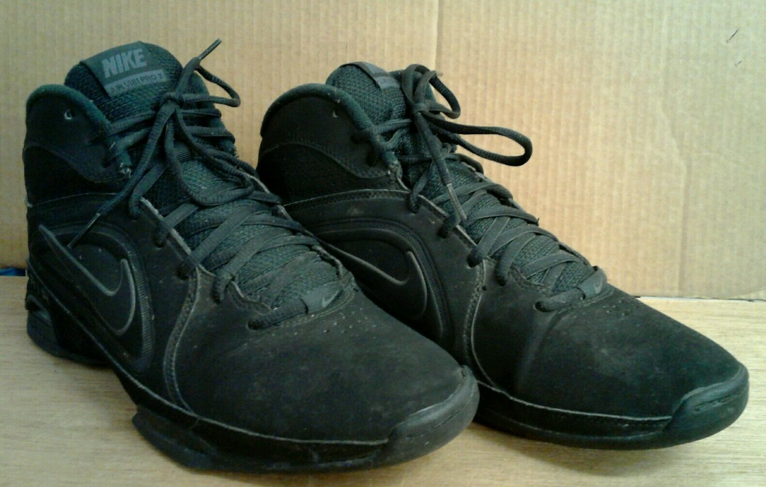MEN'S SIZE:10 NIKE AIR SHOES VISI PRO III NBK BASKETBALL SHOES AIR 525745-001 7622ab