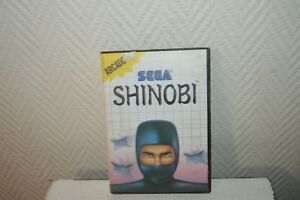 Details about Video Game Sega Master System Arcade Shinobi Vintage Retro  Gaming