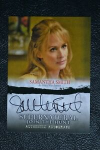 Supernatural-Seasons-1-3-A03-Samantha-Smith-as-Mary-Autograph-Auto-Trading-Card