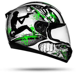 ato moto gun motorradhelm mit visier top helm zum top. Black Bedroom Furniture Sets. Home Design Ideas