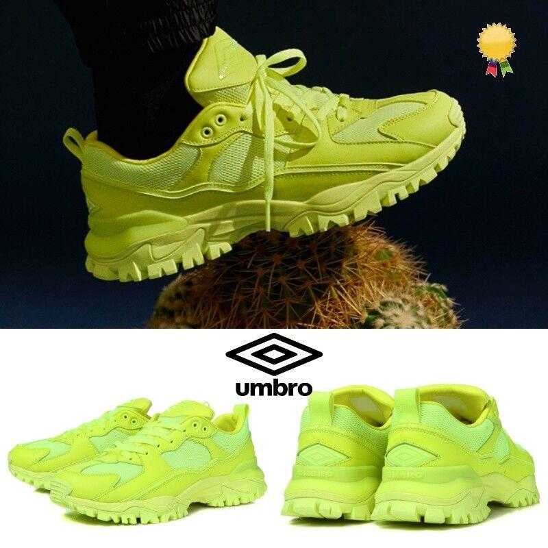UMBRO x juun.j Bumpy Ugly Athletic Sneaker Dad shoes Neon U8323SCR91 Sz 4-12