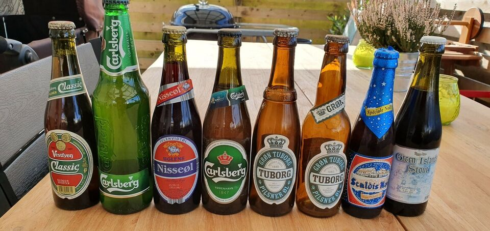 Flasker, Ølsamling