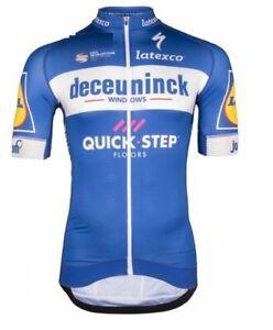 "DECEUNINCK QUICK STEP 2020 cycling jersey winter thermal /""NEW/"""